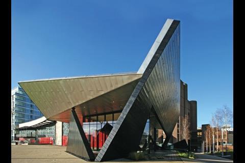 Studio Three's Chavasse Park Pavilion is part of the Liverpool One development.